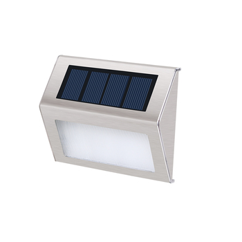 Retail price modern decorative stainless steel solar outdoor Led step light
