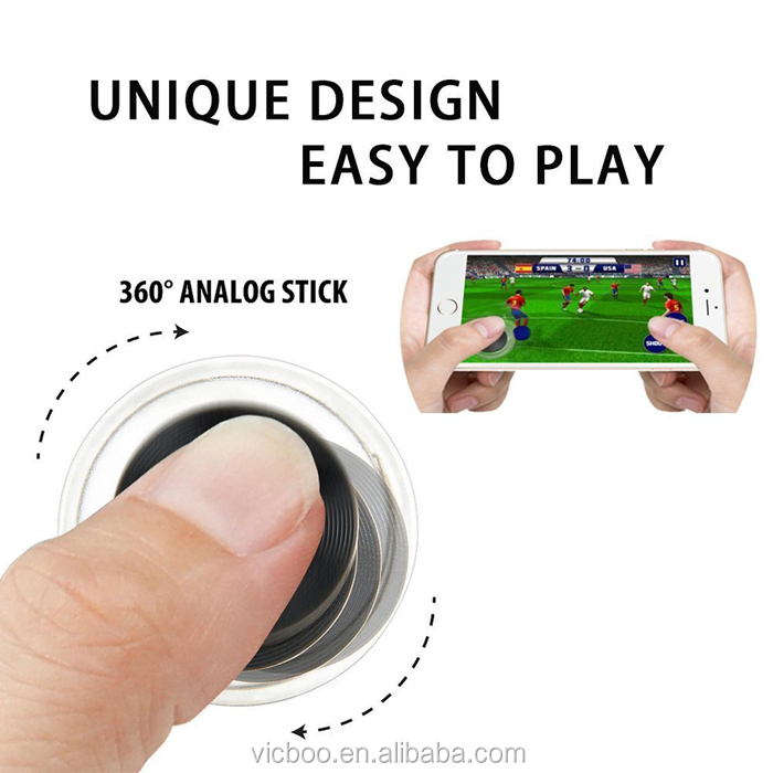 Wireless screen game arcade pc joystick for all touch screen phone