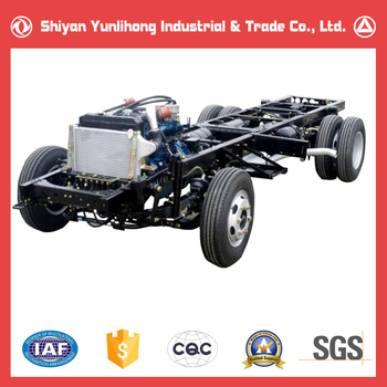 6m 19 Seats Dongfeng Bus Frame Chassis Manufacturers - Buy Bus Frame ...