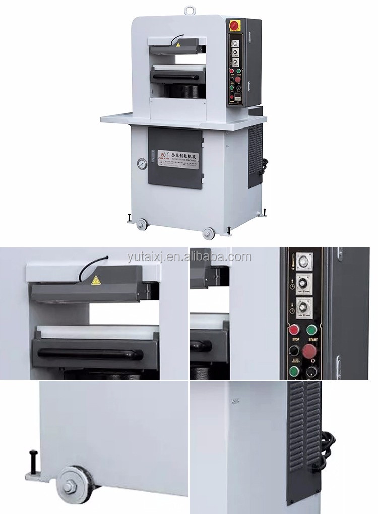 YT-609-120T Hydraulic Perforating Embossing Stamping Press Machine for Bags/Handbags/Wallet/ Leather Production Machinery