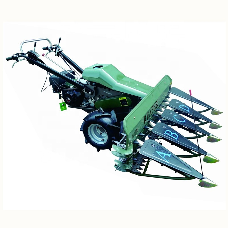 Tractor Mounted Lavender Barley Wheat Harvester Hand Weed