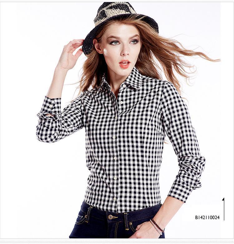 Womens Black And White Blouse | Fashion Ql