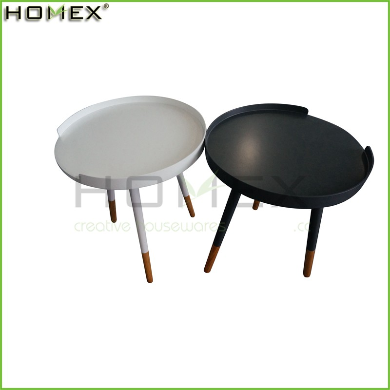 Modern Coffee Side Table Tray/Wooden Sofa End Table/Homex_FSC/BSCI Factory