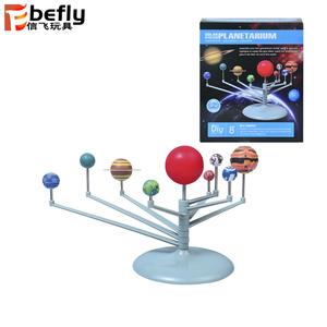 Kids educational DIY Nine Planets solar system toys