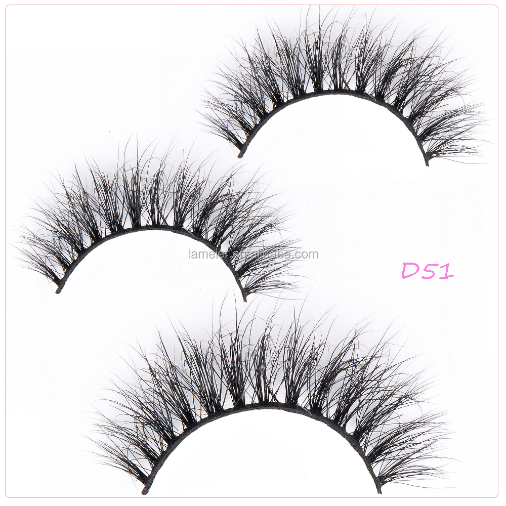 Private Label 3D Mink Lashes Custom Eyelash Packaging glue