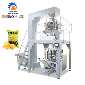 High Speed Automatic Food Packaging Machine For Potato Chips