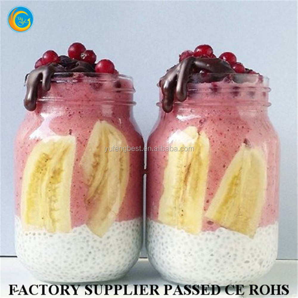 Food use glass mason jar Eco-Friendly feature