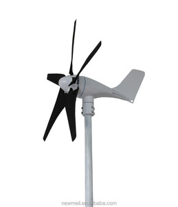 Small Wind Turbine Generators 100 w 12v 24v Residential Wind Power Generator For Boat