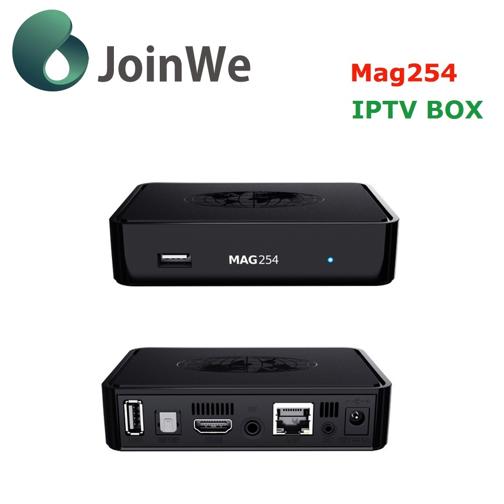 New Update mag 250 Processor -STi7105 Linux 2.6.23 IPTV BOX Mag254