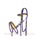 Soft & Colorful PVC Horse Racing Bridle