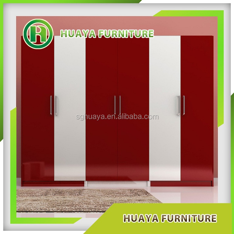custom made solid wood sliding door closet hotel furniture high gloss lacquer glass bedroom wardrobe designs