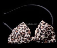Women Hair Bands Girl Headbands Cut Dots Hair Bows Hair Accessories
