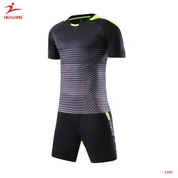6871582dd8ad1e Design Soccer Uniform Online Yellow Black Custom Team Soccer Jersey ...