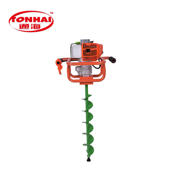 Th Ea6802 52cc Gas Powered Post Hole Digger For Tree Transplanting