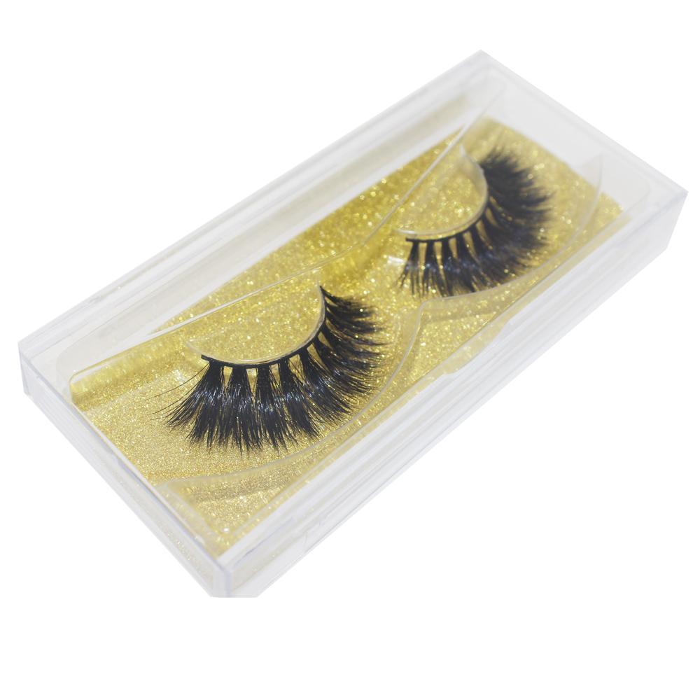 best long false lashes with lash box fake eyelashes