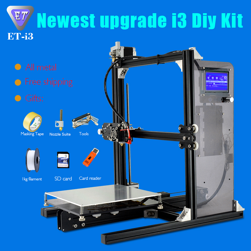 China Woody Wax Machine Automatic Candle Screen Printing Machine DIY 3D Printer with Yite ET-i3