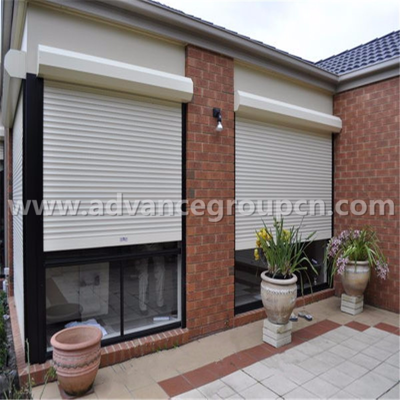 Awesome Exterior Rolling Shutters Photos Decoration
