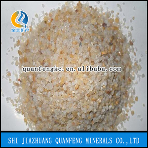 Glassy / Transparent Quartz sand / grits/ powder for quartz stone