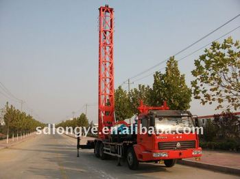 cheapest 300m rotary Truck-mounted water well drilling rig for sale