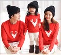 Winter family matching clothes long sleeve Christmas Holloween cotton T shirt family matching outfits Family Look