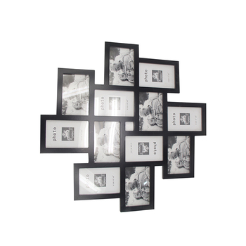 Wooden Collage Wall Hanging Picture Framephoto Frame With 12