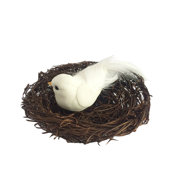 Artificial Natural Angel Vine Bird Nests Birds Erflies