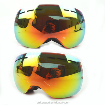 9c846facdee Professional Unisex Anti-flog Goggles Big Spherical Snowboard Goggles