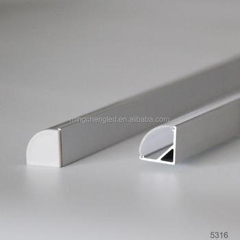 Toppen Led Profile Strip Decoration,Housing For Led Strip,Aluminium LZ-66