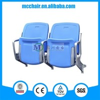 2016 Cancer Wall Mounted China Stadium Seats Folding Adult Soccer Chair/Audience Chair Arena Seating/Grandstand Seating Chairs