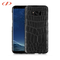 Rugged croco case s8 s8 plus Real crocodile skin genuine leather phone case for samsung galaxy s8 case