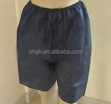 cheap disposable spa short pants with ISO,CE certificates