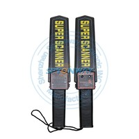 Super Scanner V Personal Security Search Hand Held Metal Detector Wand for exhibition and airport and Security Inspection