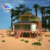 Prefab resort homes, luxury portable house, stilts house on beach