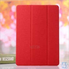 copy natural material cover for ipad 6 crystal case --- P-APPAIR2PUCA078