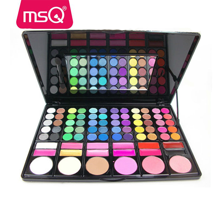 MSQ 78 colors cosmetics make up palette