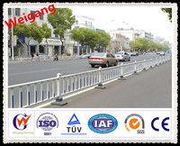 Big city road using guardrail and fence with good quality