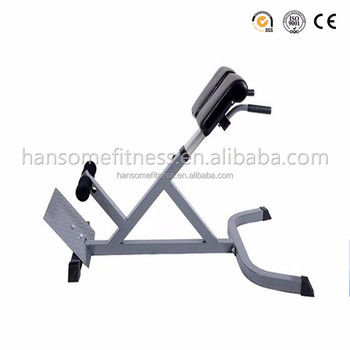 Gym Equipment Names Roman Chair Hyper Extension Lower Back Exercise