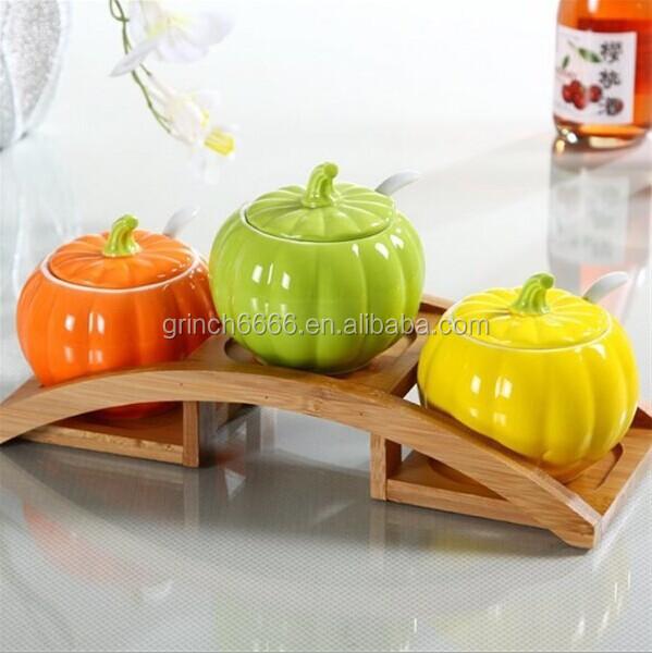 Decorative Vegetable Jars: New Decorative Fruit And Vegetable Shaped Ceramic Spice