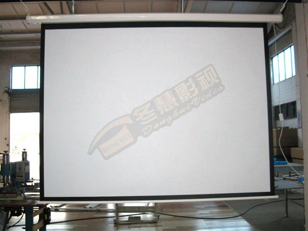 New electric floor projector screen motorized projector for Motorized floor up screen