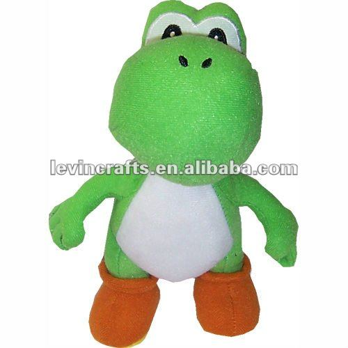 little green animals plush doll