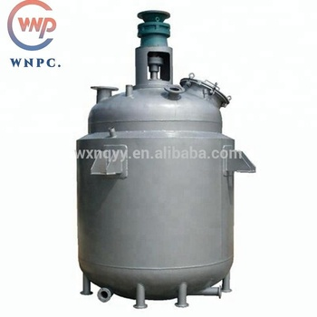 Chemical reaction vessel jacketed reactor for food and medical use
