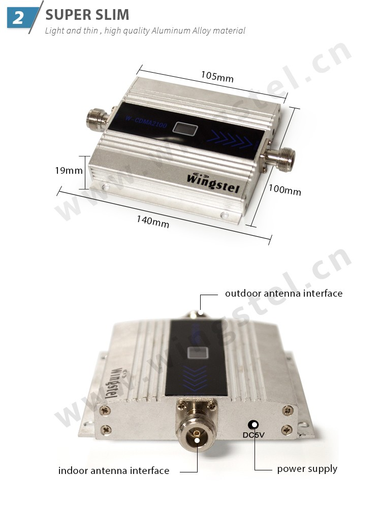 Hot Sales 900Mhz mini gsm signal booster for cell phones