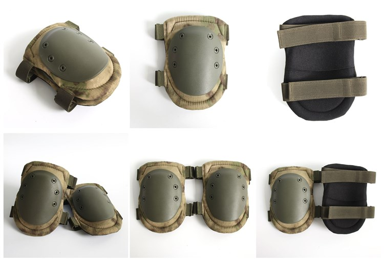 Gear Tactical Heavy Duty Cordura Military Knee Elbow Pads