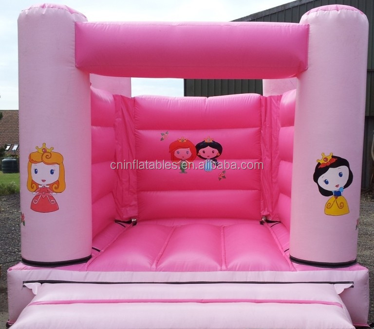cheap mini bouncer for toddlers, commercial inflatable bouncer castle/cheap Princess theme