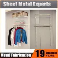 Wardrobe Shelving Closet Hanging Organizer Systems
