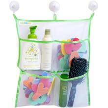 2017 New Products Home Bath Toy Organizer With 3 Suction Cups