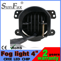 "Factocy price! 4"" 1800lm fog light, projector lens led fog light for jeep wrangler car automobile"