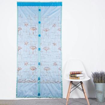 Fantastic Beautiful Colorful Anti Mosquitoes Hanging Magnet Screen Mesh Door