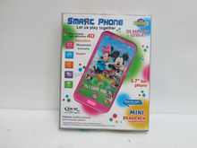 SMALL KIDS PINK MOBILE PHONE TOYS
