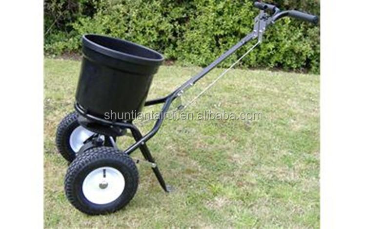 Lawn Seed Spreader/manual Fertilizer Spreader/manure Spreader ...
